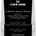 Productions - Murder at the Cafe Noir - March 205